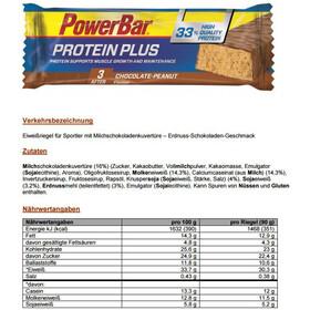 PowerBar ProteinPlus 33% Bar Caja 10x90g, Chocolate-Peanut